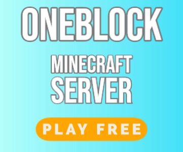 OneBlock MC Minecraft Manhunt Minecraft Server