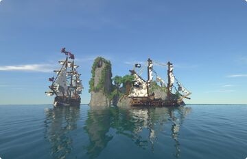 PlunderSeas - A Pirate themed roleplay server! Minecraft Server