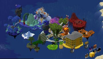Furadise Hidden Islands survival/creative server (Bedrock Support) Minecraft Server