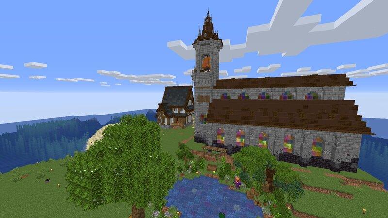 Spawn Island in progress
