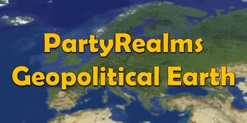 PartyRealms - Geopolitical Earth Minecraft Server