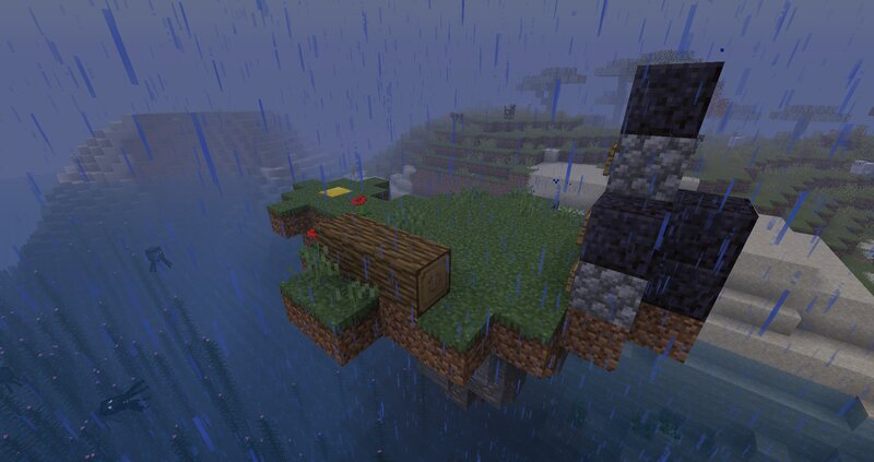 An image of the server on a rainy day. Sad c