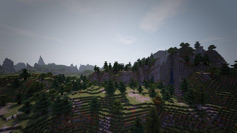 Custom Mountain Range