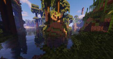 Azalea Kingdom | 1.17.1 | Custom World Generation | Land Claiming | Mature & Friendly Community | Minecraft Server