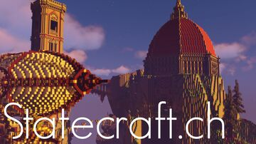 Statecraft [1.16.5 - Survival - Vanilla - Shops] Minecraft Server