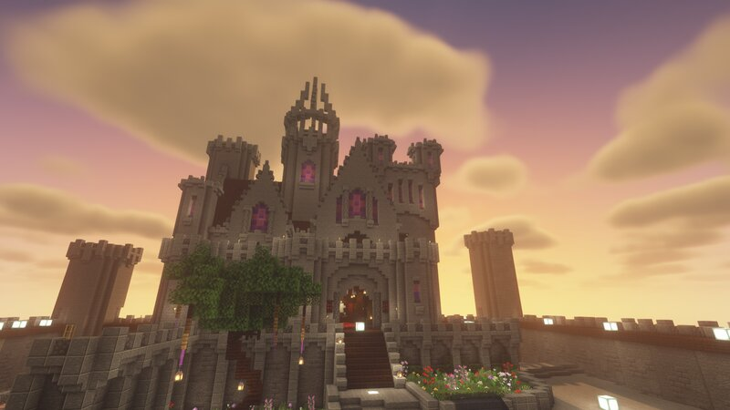 WobblyWaffle's Castle. One of many on the server!