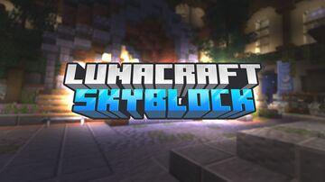 LunaSkyblock   1.17.1   Custom Mobs   Custom Bossfights   Custom Gear   Dungeons Minecraft Server