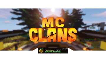 MC-CLANS SMP Minecraft Server