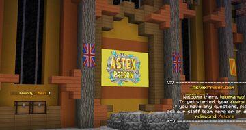 AstexPrison   OP Prison   Envoys   Custom Enchants Minecraft Server