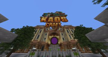 KaosCraft - Towny - Quests - Events - Ranks - Custom Enchantments Minecraft Server