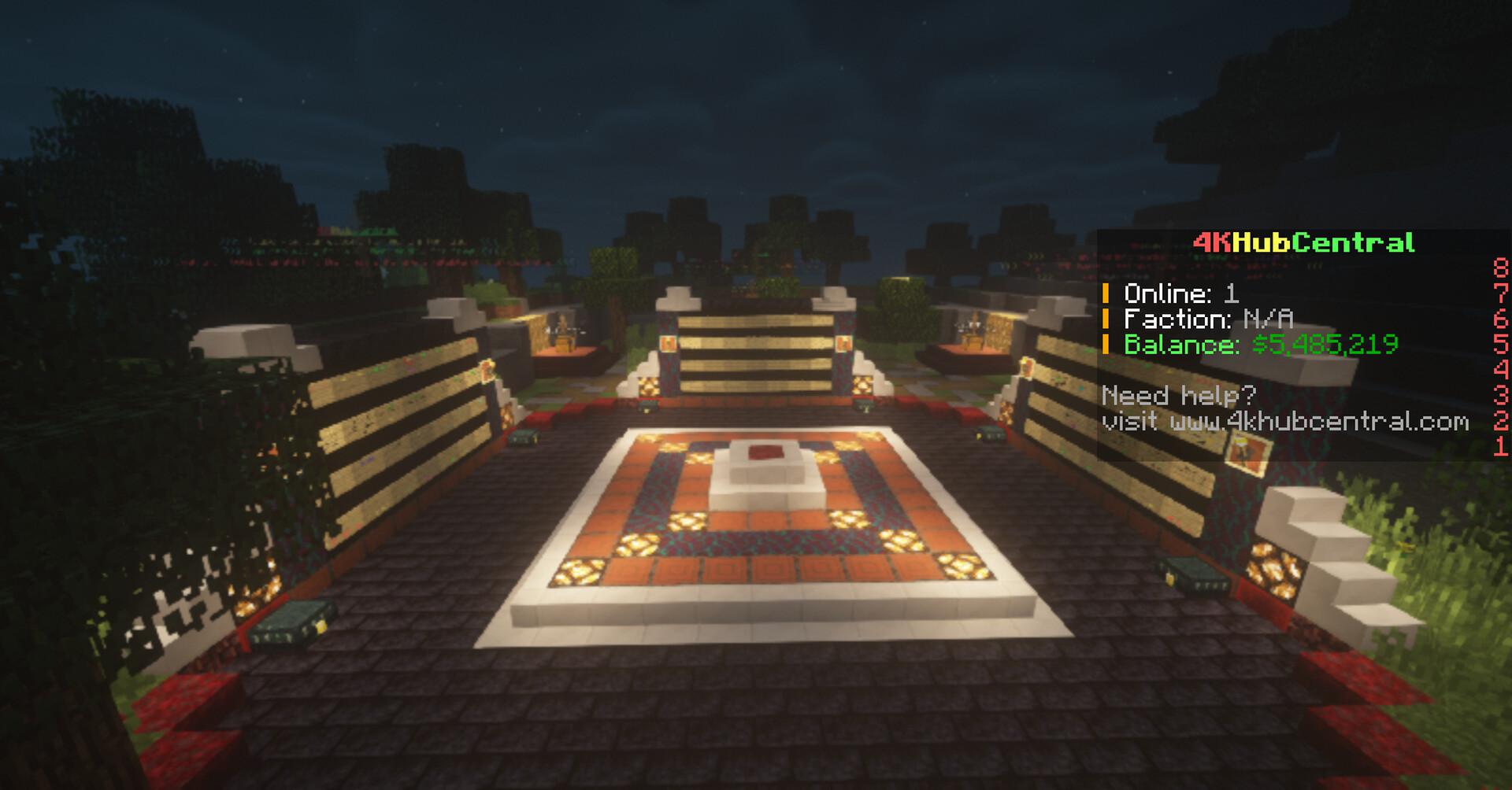 Kit PvP + Creative Server Minecraft Server