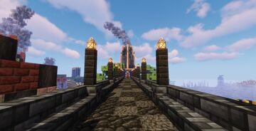 LunaPark - a friendly survival server with fun additions Minecraft Server