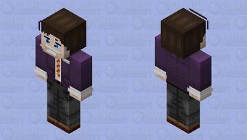 William Afton (canonically) Minecraft Skin
