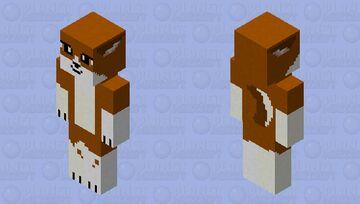 wolf HD (russet) Minecraft Skin