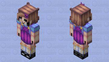Nimu Spacecat (@NimuTv) - FanSkin (HD) Minecraft Skin