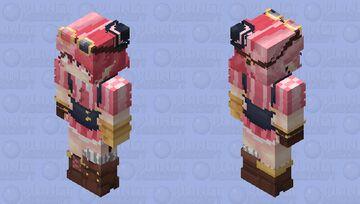 Strawberry-Colored Steampunk : RCE Minecraft Skin