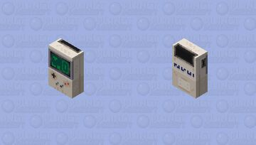 Nintendo Game-Boy || [HD] Minecraft Skin