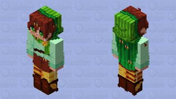 - _ -  the misadventures of bee boy contest entry  - _ - Minecraft Skin