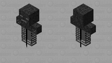 The wither and king of skeletons Minecraft Skin
