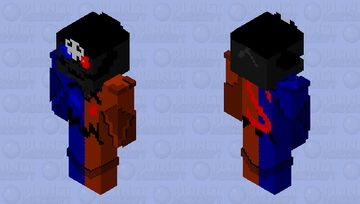 Captain black out ~ (skin colab done by ShadowCypher and Shadowfall6300) Minecraft Skin