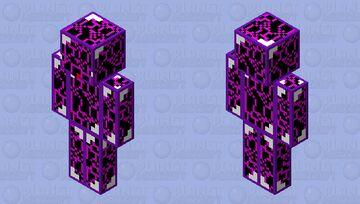 criing obsidian buddy Minecraft Skin
