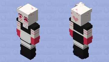 Angel Dust (cute outfits|№6) Minecraft Skin