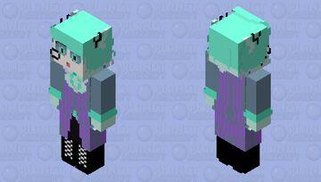3Р Alastor Minecraft Skin