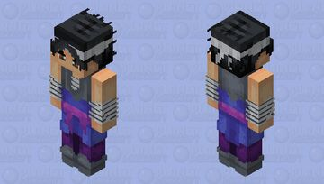 Making My Old Skins To 128x : #5 - Sasuke Minecraft Skin