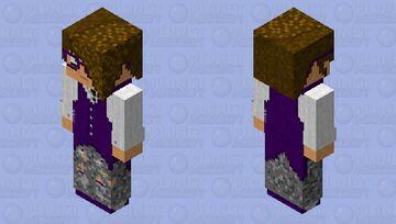 Quicksilver (128x128, hat-layered hair) Minecraft Skin