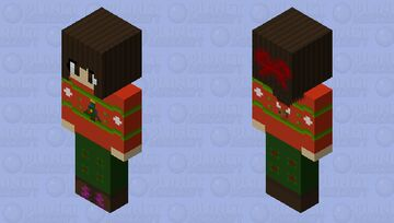 Winter Holly-Day | Winterfest Submission Minecraft Skin