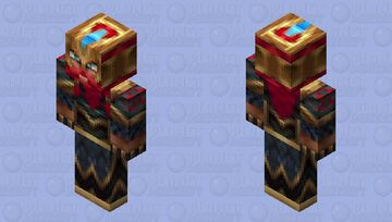 SKT T1 Olaf | League Of Legends | 2x HD Minecraft Skin