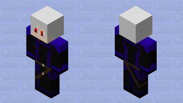 Kiya Arsonle Miller(Black Order)[Fort Albion]|Time's End Minecraft Skin