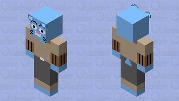 Gumball HD Minecraft Skin
