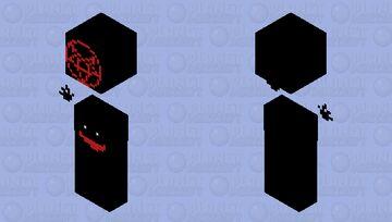 Evil glow entry (SCARY DEMONIC) Minecraft Skin