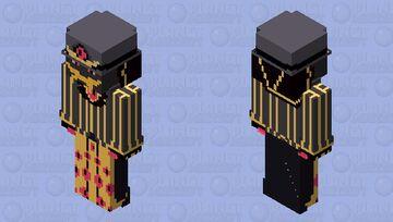 Sir Pentious | Hazbin Hotel Minecraft Skin