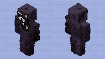 Black Tar War Lord Minecraft Skin