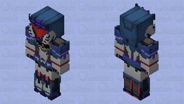 Transformers RiD Soundwave Minecraft Skin