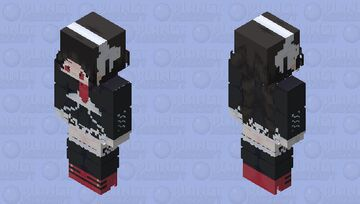 celestia ludenberg Minecraft Skin