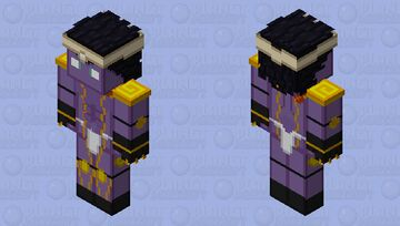 JJBA Star Platinum Minecraft Skin