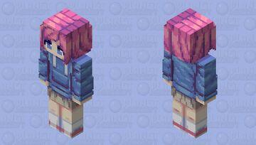 Girl in hoodie (32x resolution) Minecraft Skin