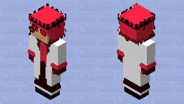 King of Hell Alastor version Minecraft Skin