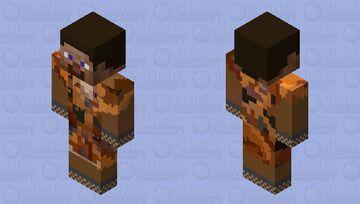 Caveman Steve Minecraft Skin