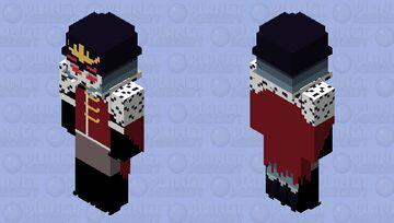 Stolas the Owl Demon | Helluva Boss Minecraft Skin