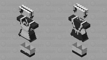 Maid skin base Minecraft Skin