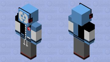 Social Media Personified - Discord Minecraft Skin