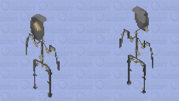 security droid Minecraft Skin