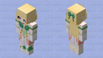 Vert (Hyperdimention Neptunia) HD Minecraft Skin