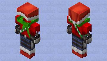 Rendog Winter Outfit | Hermitcraft Minecraft Skin