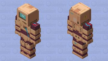 Old PC Robot Minecraft Skin