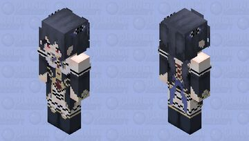 Noire (Hyperdimention Neptunia) HD Minecraft Skin